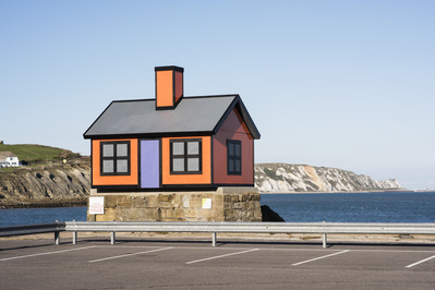 Holiday home (Orange), 2017  By Richard Woods