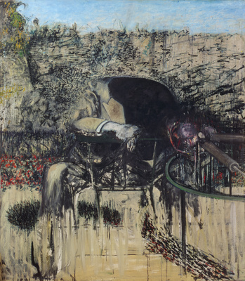 Figure in a Landscape, 1945