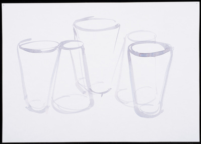 Untitled 'Upside Down Glasses', 2013