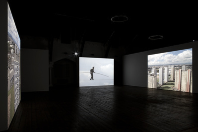 High Wire, Installation View, German Gymnasium, London, 2008