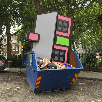 UPGRADE, Hoxton Square, 2018 By Richard Woods