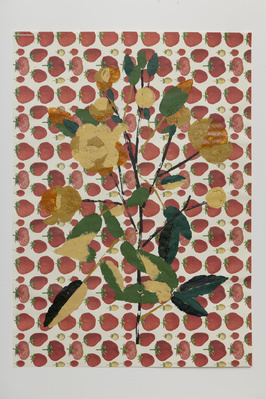 Strawberries And Flowers, 2011 By Georgie Hopton