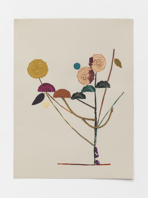 Another Difficult Season's Veg Print (ix), 2015 By Georgie Hopton