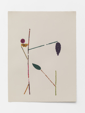 Another Difficult Season's Veg Print (i), 2015 By Georgie Hopton