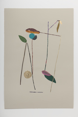 A Wet Season's Veg Print (xix), 2011 By Georgie Hopton