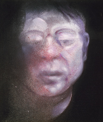 Self-Portrait, 1987 By Francis Bacon