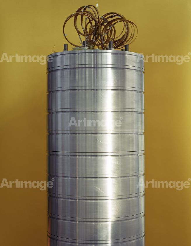 Enlarged version of Superconducting Magnet, Deep Blue Series, 1997