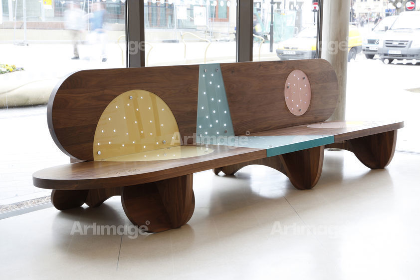 Giant Clock Bench, 2010