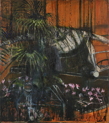 Landscape with Car, c.1945-46