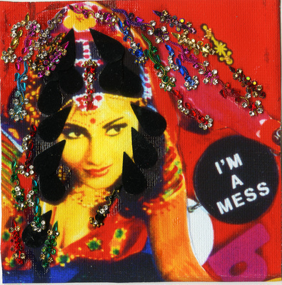 I'm a Mess, 2014 By Chila Kumari Singh Burman