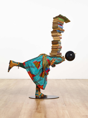 Girl Balancing Knowledge III, 2017