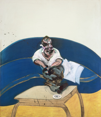 Study for Self-Portrait, 1963 By Francis Bacon