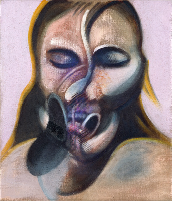 Three Studies for a Portrait, 1976  By Francis Bacon