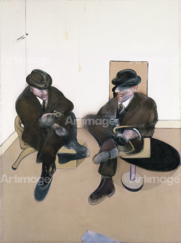 Enlarged version of Two Seated Figures, 1979