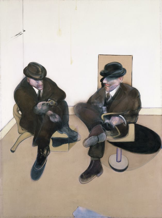 Two Seated Figures, 1979