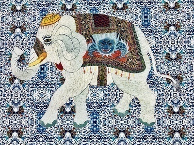 The Best Elephant in Town, 2017 By Chila Kumari Singh Burman