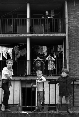 Elswick Kids, 1978 By Tish Murtha
