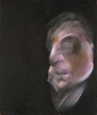 Three Studies for Self-Portrait, 1983 By Francis Bacon
