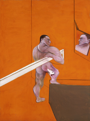 Male Nude before Mirror, 1990