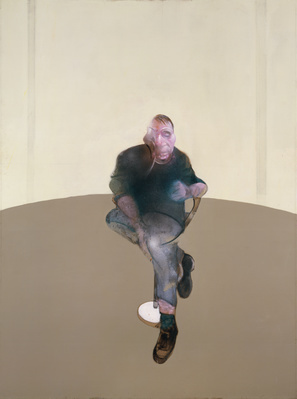Study for a Self-Portrait – Triptych, 1985-6