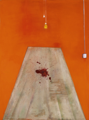 Blood on the Floor – Painting, 1986