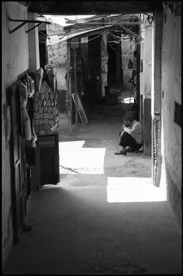 Shadow, The Medina, Fes, Morocco, 2017