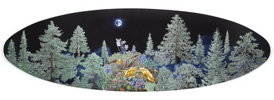 The Moonbeam Gatherer, 2010 By Raqib Shaw