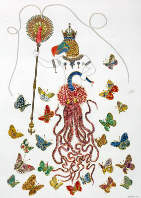 Untitled, 2005 By Raqib Shaw