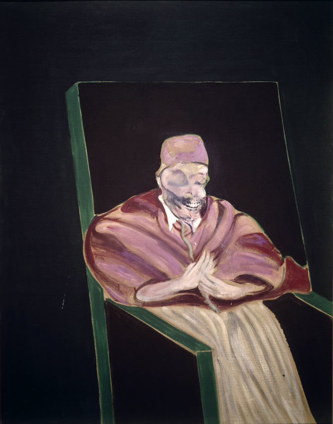 Study for a Pope IV, 1961 : Francis Bacon : Artimage
