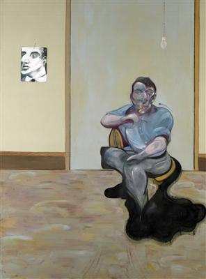 Three Portraits. Posthumous Portrait of George Dyer, Self-Po... By Francis Bacon
