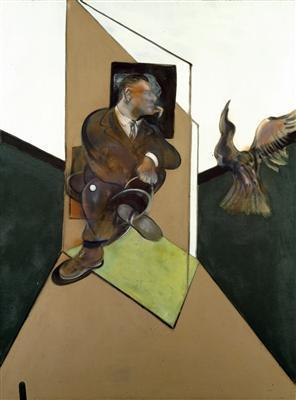 Study for Portrait with Bird in Flight, 1980