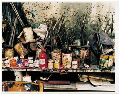 Francis Bacon's Studio at 7 Reece Mews, London, 1998 By Francis Bacon