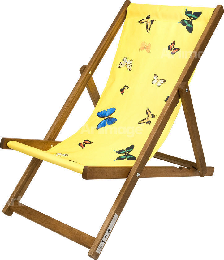 Enlarged version of Deckchair (yellow), 2008
