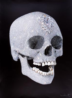 For the Love of God. The Diamond Skull, 2007  By Damien Hirst