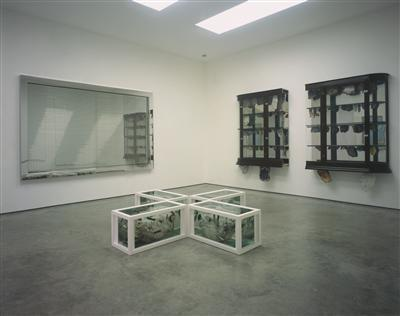 Installation 'Romance in the Age of Uncertainty', White Cube...