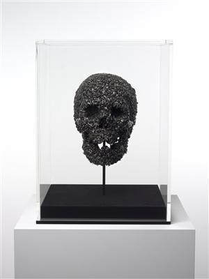 The Fear of Death (Full Skull), 2007  By Damien Hirst