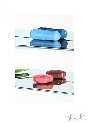 Two Pills (Small), 2004