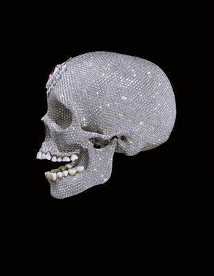 For the Love of God, 2007 (left profile view)   By Damien Hirst