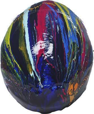 Transcendent Head, 2008 (top view)