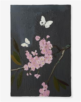 Cherry Blossom and Butterflies, 2010