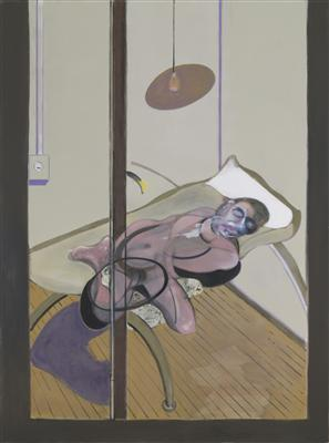 Sleeping Figure, 1974  By Francis Bacon