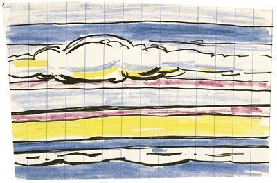 Seascape with Clouds (Study), 1964