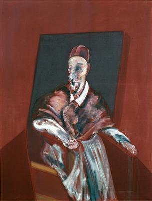 Seated Figure (Red Cardinal), 1960 By Francis Bacon