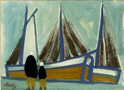 Moored Sails, late 1990s