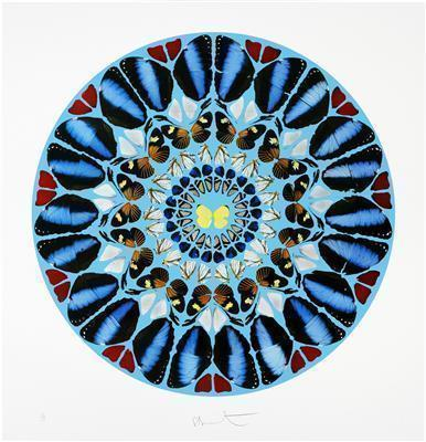 Psalm Print: Ad te, Domine, levavi, 2010  By Damien Hirst