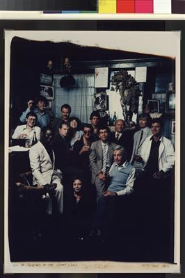 Members of the Colony Room, 1983