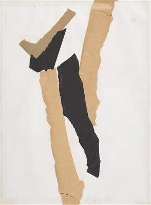 Collage on paper, 1978  By Sandra Blow