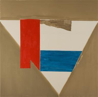 Brown Blue and Red, 2006