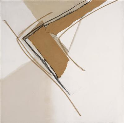 Canvas Collage and Bamboo, 1978