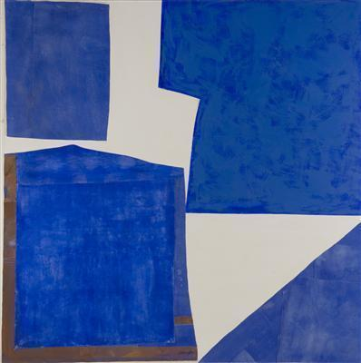 Blue and White Collage, 2006
